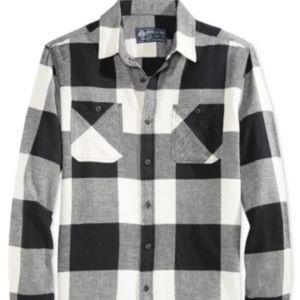 American Rag Buffalo Check Flannel Shirt